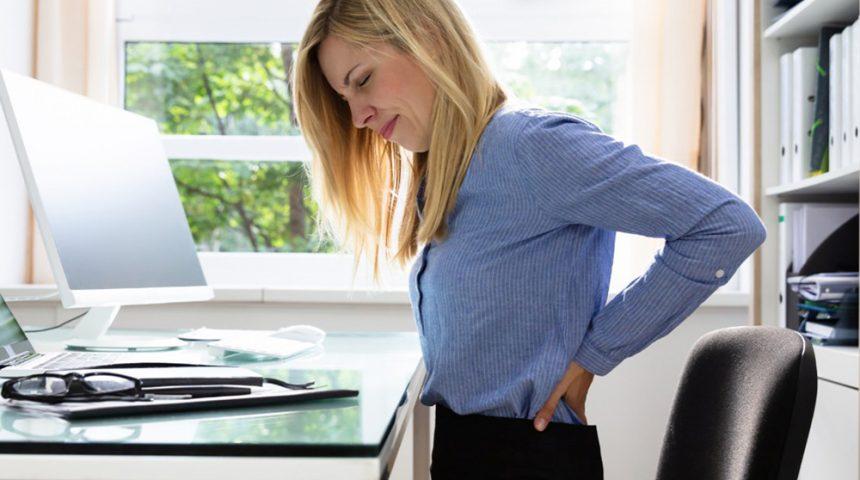 Защо гърбът ви боли в края на работния ден?